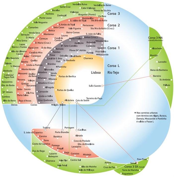 mapa de coroas lisboa VIVA mapa de coroas lisboa